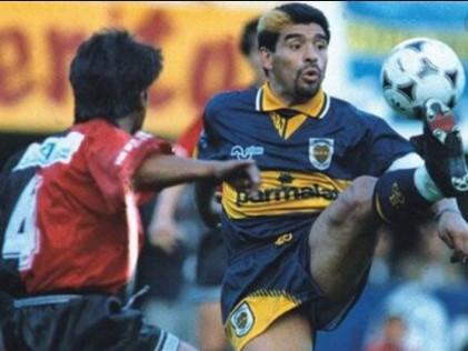 Homenaje a Diego Maradona
